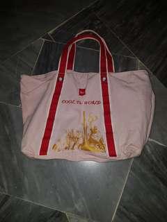 Big canvas bag