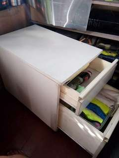 Movable cabinet (2-drawer)