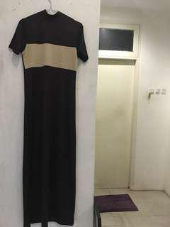 Dark Brown Long Dress