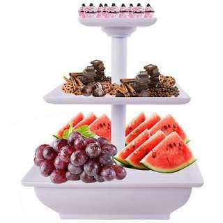3 Tier Cupcake or Fruit Stand