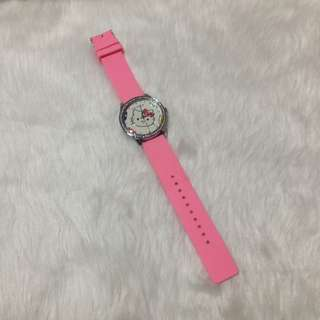 Hello Kitty Neon Pink Watch