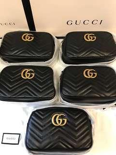 全新現貨Gucci GG Marmont small crossbody