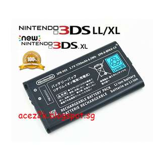 [BN] 3DS new / XL / LL Original Battery SPR-003 (Brand New)