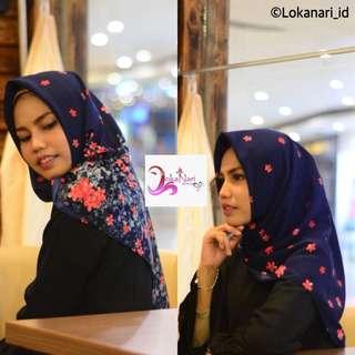 Hijab Segi Empat Basanta