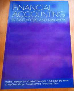 Financial Accounting in Singapore and Malaysia (2005)