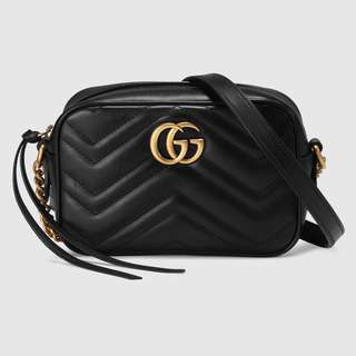 🚚 Gucci marmont mini bag black 黑色