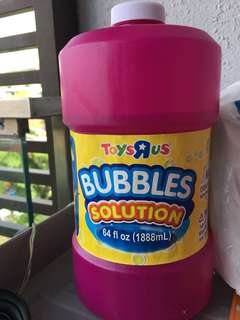 Bubble Solution for Wedding, Parties.
