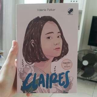 Novel Claires - Valerie Patkar [Populer di Wattpad]