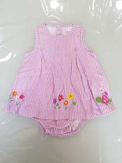 Carters romper dress