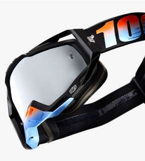 100% goggles- motocross enduro