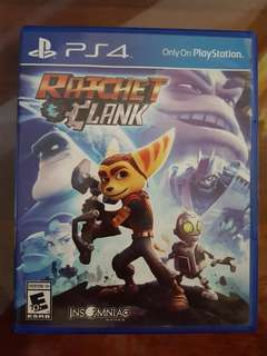 PS4 games: Ratchet Clank