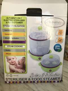 Autumnz Sterilizer and Food Steamer