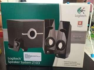 Speaker System Logitech buat computer