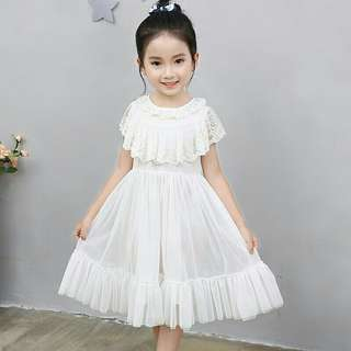 *FREE DELIVERY to WM only / Pre Order 12-14 days* Kids tulle lace dress each as shown design/color.   Free delivery is applied for this item.