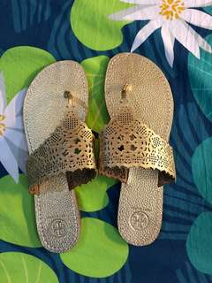 Brand New Authentic Tory Burch Thongs 9.5