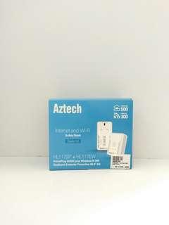 🚚 Aztech HL117EP + HL117EW Dual band extender PowerLine Wi-Fi kit