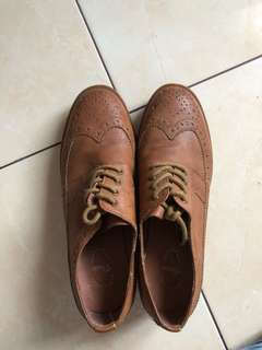 TRACCE Oxford Shoes Sole 3 cm