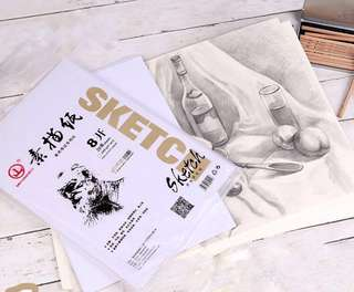 🚚 [20pc] Large Sketching Paper 180g