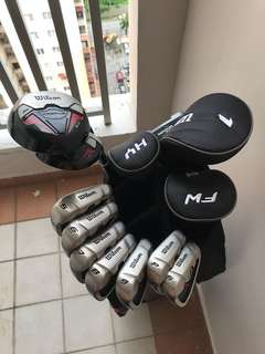 Golf Set - Wilson Profile XD Graphite Shafted