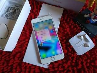 iPhone 7 Plus 128GB Rosegold FU Fullset Original No Minus Mantap