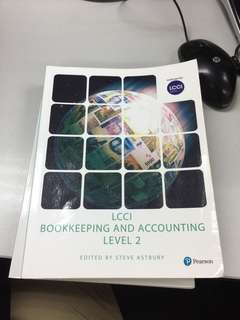 LCCI 2  booking&accounting書