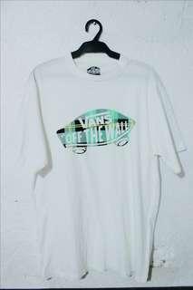 VANS White Shirt LARGE