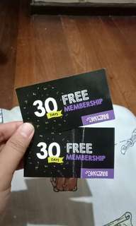 Anytime Fitness 30 or 60 workout days