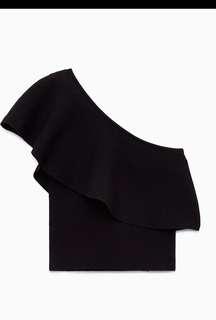 Wilfred Georgine Black Knit Top
