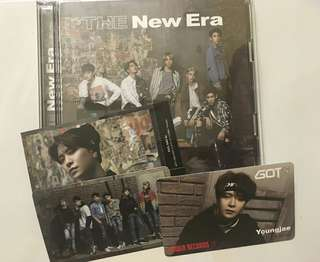 GOT7 - The New Era version A (Unsealed-Youngjae Set)