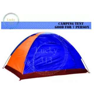 #44 Camping Tent Good For 7 Person (Multicolor)