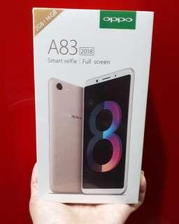 Oppo A83 2018 Kredit murah banget promo berlimpah