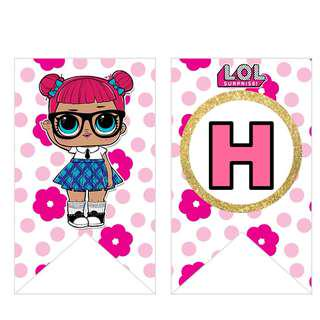 Bunting Banner - LOL Surprise