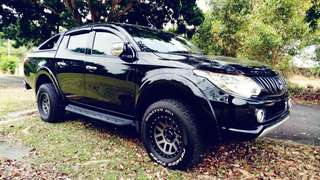 SAMBUNG BAYAR/CONTINUE LOAN  MITSUBISHI TRITON 4x4 AUTO 2.5  YEAR 2016 MONTHLY RM 1072 BALANCE 7 YEARS + ROADTAX VALID TIPTOP CONDITION  DP KLIK wasap.my/60133524312/triton