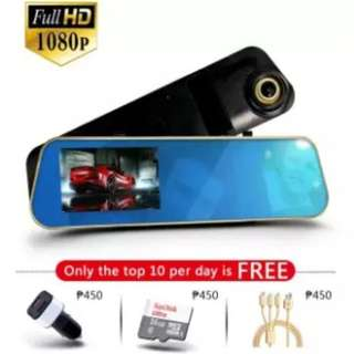 #45 Car Dash Cam Mirror Video Recorder Full HD