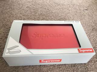 Supreme收藏盒