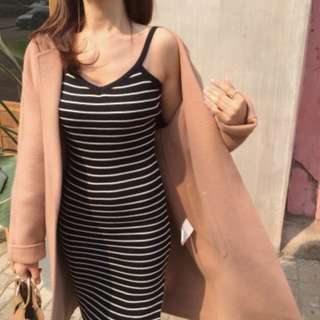 🚚 PO Korean Ulzzang Chic Bodycon Dress