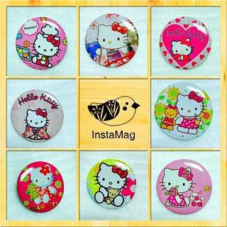 Hello Kitty Brooch Set