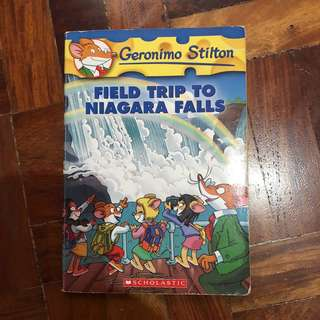 Geronimo Stilton: Field Trip to Niagara Falls
