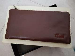 Dompet Coklat Panjang