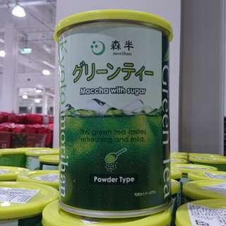 🚚 好市多 日本MORIHAN森半抹茶粉-含糖(850g/1罐)