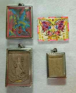 Kruba Krissana Butterfly,Lord Shiva,Salika Amulet