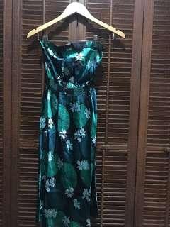 Warehouse Silk Printed Dress