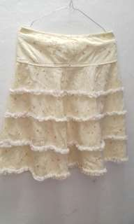 rok corak flower utk anak kelas 3 SD