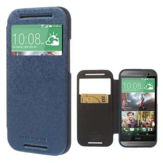 🚚 Goospery HTC One M8 Wow! Bumper View Case (Authentic)
