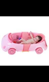 Baby car bathtub