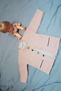 Pink Outwear Jacket