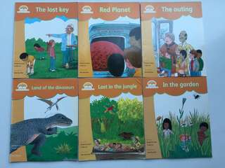 Oxford Reading Tree Orange Level 4