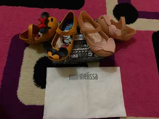 SALE take it all mini melissa original size 9 (NO NEGO ya udh nett dan freeong)