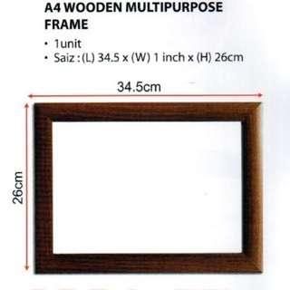 A4 Wooden Multipurpose Frame (P-SPS-0220)