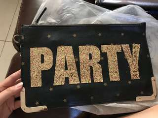 Party gilterry clutch